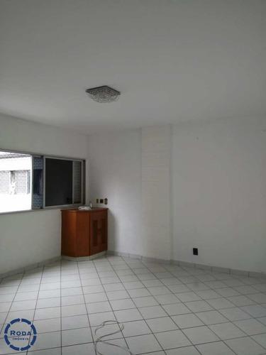 Apartamento Com 2 Dorms, Itararé, São Vicente - R$ 290 Mil, Cod: 17647 - V17647