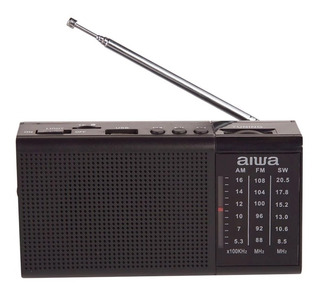 Radio Reproductor Aiwa 50 Fm Mp3 Usb Led 21296 / Fernapet