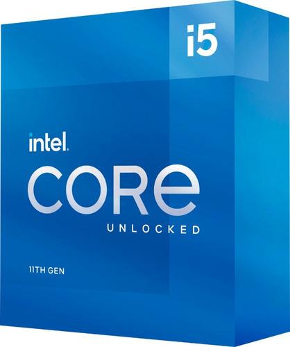 Imagen 1 de 6 de Procesador Intel Core I5-11600k S1200 11va 4,90ghz