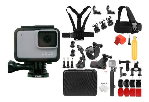 Gopro Hero 7 White Com Kit Original