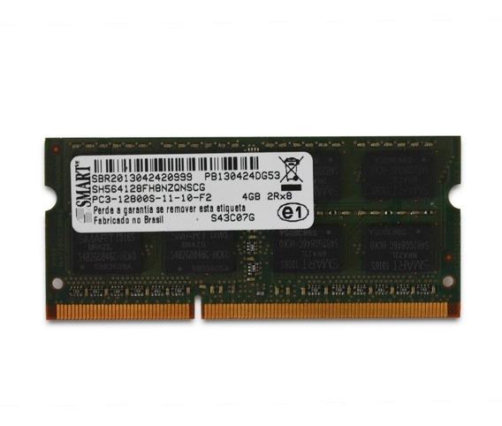 Memória Ram Notebook Smart 4gb Ddr3 1,5v 1600mhz