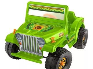 Carrito Eléctricos Power Weels Jeep Wrangel Nuevo, Nuevo ¿