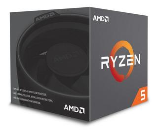 Cpu Amd Ryzen 5 1400 3.4 Mhz 65w Soc Am4 Yd1400bbaebox