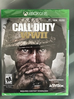 Xbox One Call Of Duty: Wwii Totalmente Nuevo Y Sellado