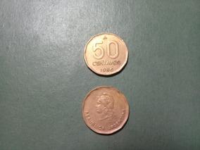 Moneda 50 Centavos Austral