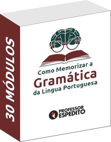 Como Memorizar A Gramática Da Língua Portuguesa
