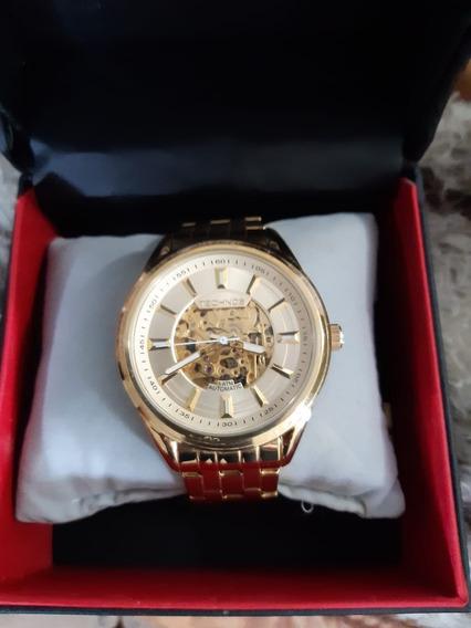 Relógio Masculino Technos Esqueleto 8n24af/4k- Aut