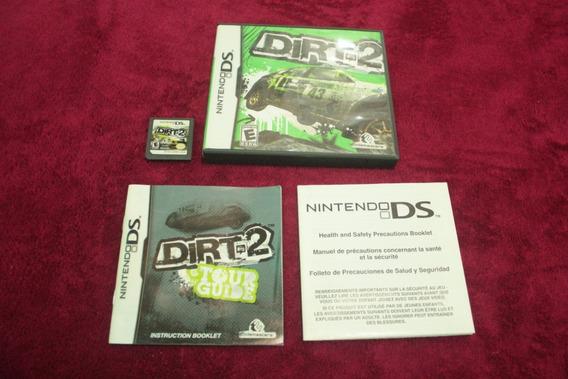 Dirt 2 Original Usa Completo Para Nintendo Ds Corrida Carros