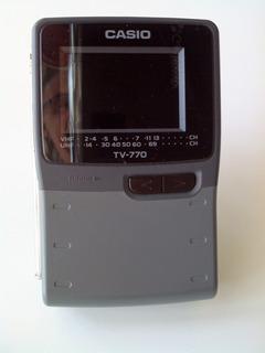 Tv Casio 770 H Portátil Lcd Color Televisión 2,3 Pulgadas
