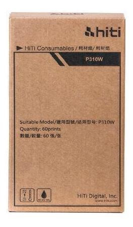 Papel E Ribbon Para Impressora P310w Hiti