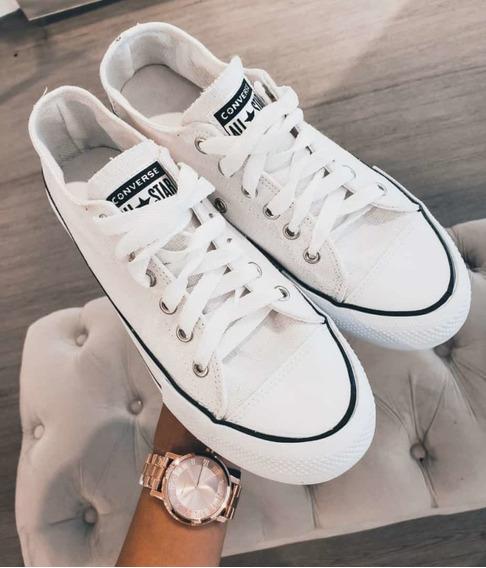 Zapatillas Converse Blancas Nro 40