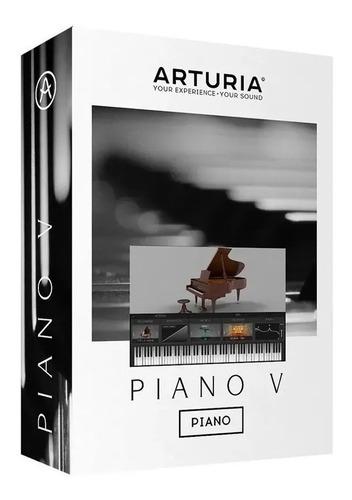 Software Arturia Piano V Pack Original Licencia Oficial