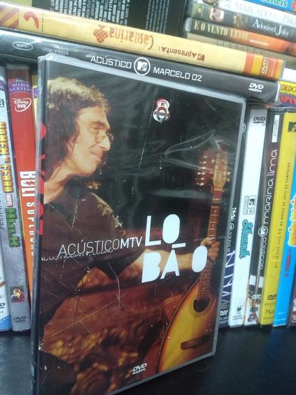 Dvd Lobao Acustico Mtv Novo Lacrado Original