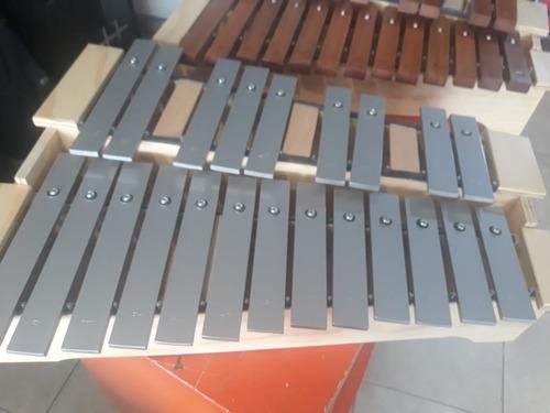 Metalofono Soprano Cromático 1 3/4 Octava