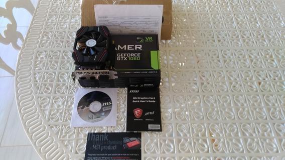 Placa De Vídeo Nvidia Gtx 1060 Igamer 6gb Oc Nf + Acessórios