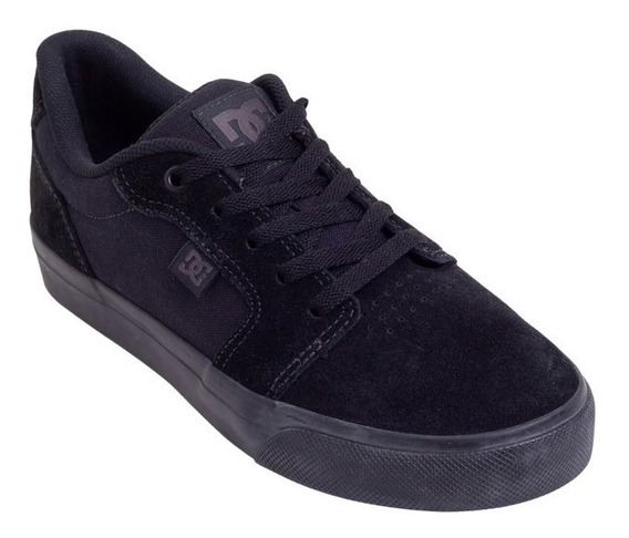 Tênis Dc Shoes Anvil La - Black/black/black