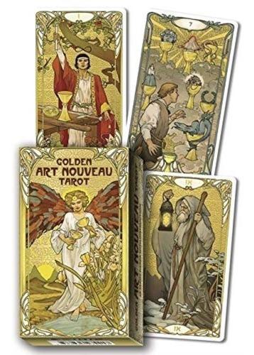Golden Art Nouveau Tarot Giulia Massaglia Cartas + Guía