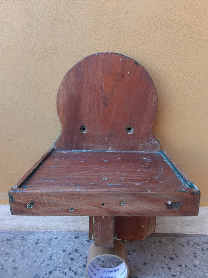 Antigua Repisa De Pinotea Robusta Fcca