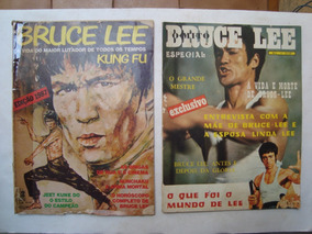 Revista A Vida E A Morte De Bruce Lee N.1 E 2