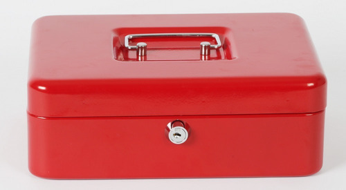 Cofre Portavalores Caja De Dinero Monedero, Alajero    *n°1*