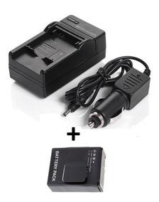 Kit Bateria Para Câmera Gopro Hero3+ Hero3 + Carregador Novo