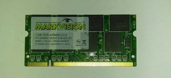 Memoria Ram Ddr400 1gb Laptop