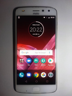 Celular Motorola Moto Z2 Gold 64 Gigas Semi Novo + Caixa