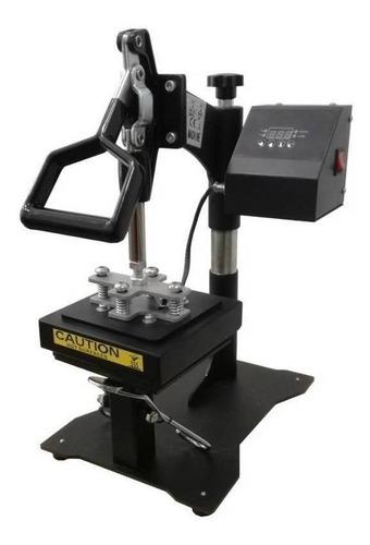 Estampadora sublimadora manual Addacor Gorras 4 en 1  negra 220V