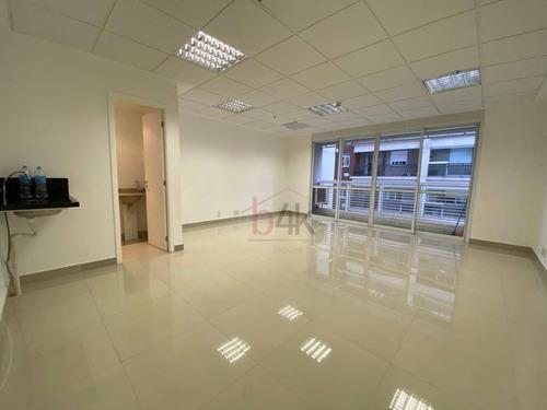Imagem 1 de 12 de Sala Comercial Locação, 39m² No Campo Belo - São Paulo/sp - Sa0363