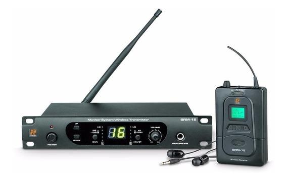 Sistema In Ear Staner Srm-1e Uhf S/ Fio + 2 Body Pack