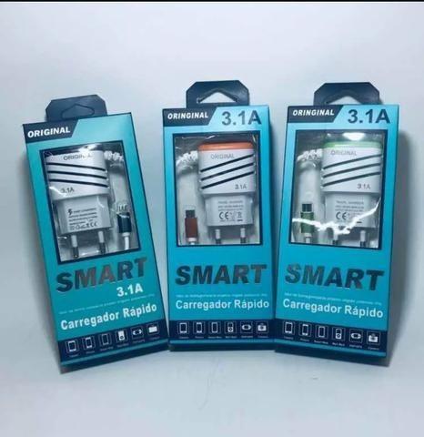 Carregador Smarte Original 3.1 Amperes
