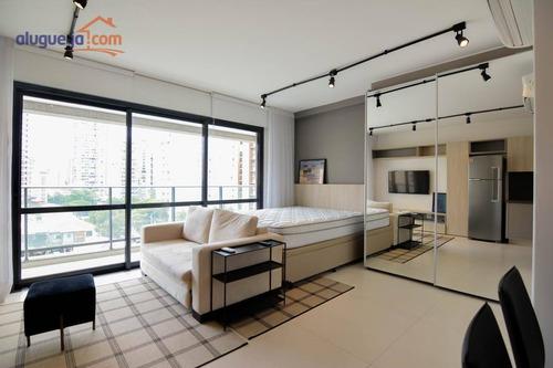 Imagem 1 de 17 de Studio Com 1 Dormitório Para Alugar, 39 M² Por R$ 4.550/mês - Itaim Bibi - São Paulo/sp - St0040