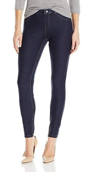 Leggings Jeans Hue Para Mujer Strech Algodón Elegante