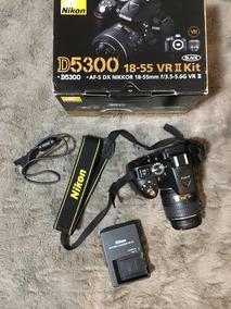 Nikon D5300 + Lente Kit 18-55mm + Caixa Original+ Cartão 32g