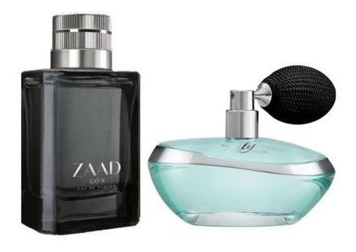 Oferta De Lançamento Duo Zaad Go Eau De Parfum 95ml + My Lily Eau De Parfum, 75ml Ori