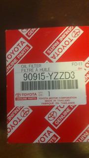 Filtro De Aceite Toyota Fortuner 90915 Yzzd3