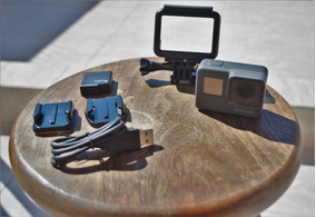 Câmera Gopro Hero 5 Black 4k 1080p 120fps + Carregador Duplo
