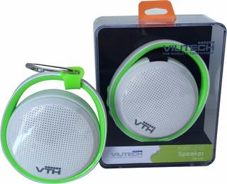 Parlante Bluetooth Potenciado Viutech Pb-100 Portátil Flex