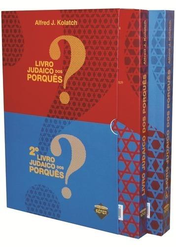 O Livro Judaico Dos Porquês - Box Com 2 Volumes