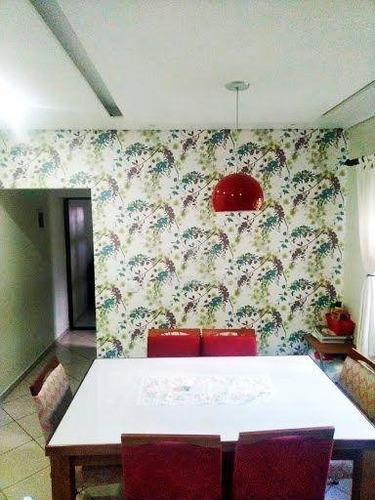 Imagem 1 de 13 de Sobrado Com 3 Dormitórios À Venda, 112 M² Por R$ 550.000,00 - Vila Emílio - Mauá/sp - So0163