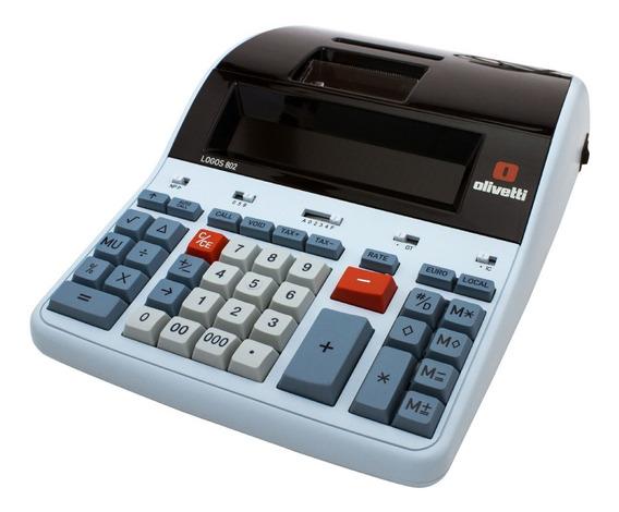 Calculadora Olivetti Logos 802 | Nueva | Garantía