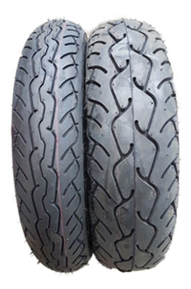 Par Pneus 170/80-15 + 120/90-17 Pirelli Mt66 P/ Shadow 750