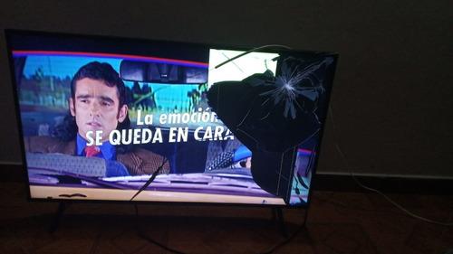 Televisor Samsung 43 Pulgadas Pantalla Quebrada.