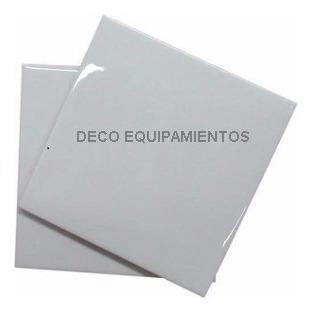 10 Azulejo 15x15 Blanco  Unidad