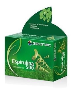 Geonat Espirulina 500 Fuente Nutritiva Apetito 60 Comprimids