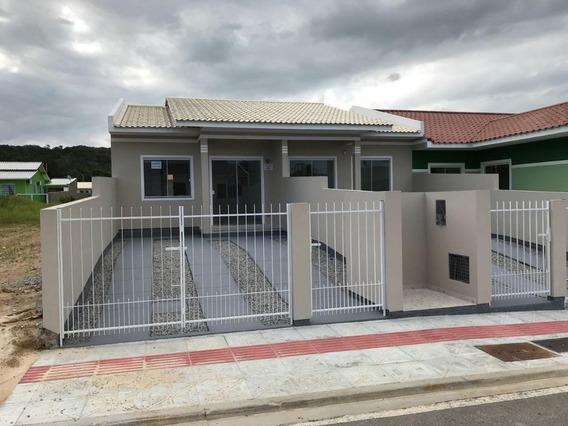 Casa 2 Quartos No Loteamento Vale Verde, Bela Vista Em Palhoça Ótimo Acabamento. Programa Mcmv. - Ca2080