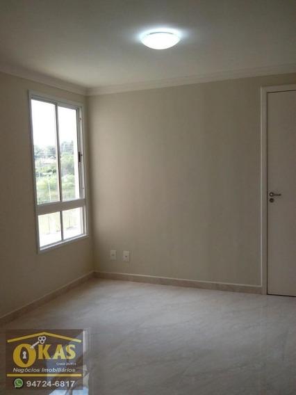 Apartamento Para Locação Em Suzano, Parque Santa Rosa, 2 Dormitórios, 1 Banheiro, 1 Vaga - Ap0226_1-1424897