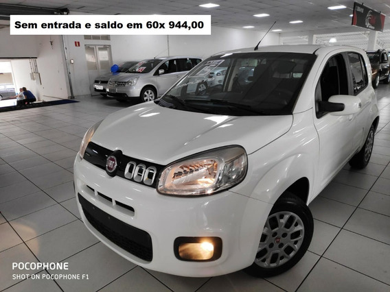 Uno Evolution 2015 1.4 Flex Sem Entrada 60x De 944,00