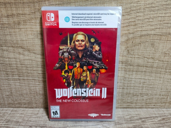 Wolfenstein 2 The New Colossus Nintendo Switch - Lacrado