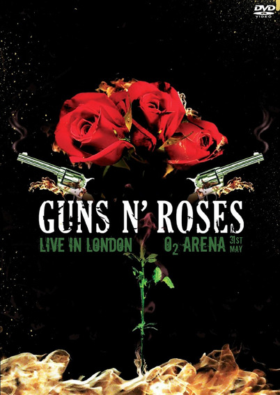 Dvd Guns And Roses, London 2012